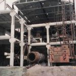 The construction of a new Department of Chromium Oxide Metallurgical the 30th of May 2000