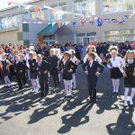 Начальная гимназия №1 при финансовой помощи НЗХС открыла саои девери для учеников 01.09.2015